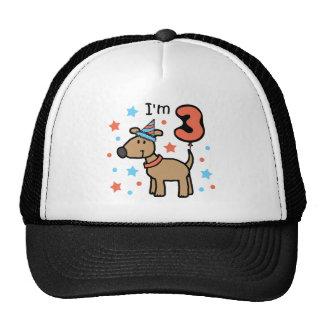 I'm Three Doggie Trucker Hat