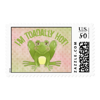I'm Toadally Hot! - Frog Postage