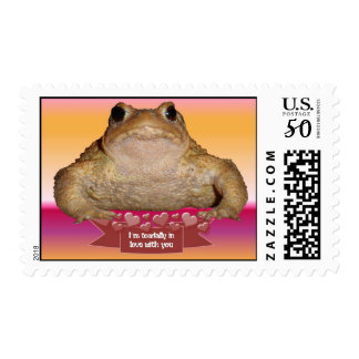 I'm Toadally In Love Postage