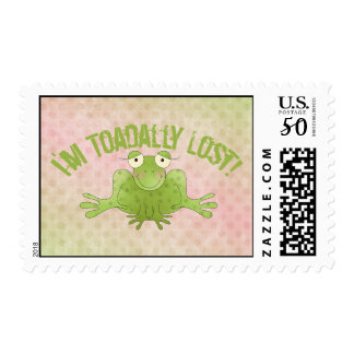 I'm Toadally Lost! - Frog Postage