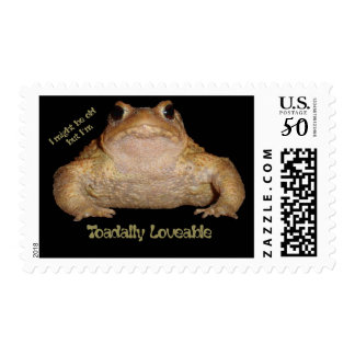 I'm Toadally Loveable Postage
