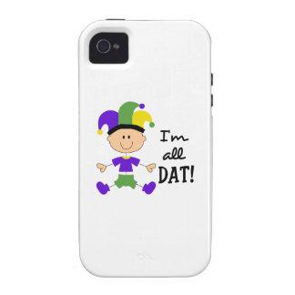 IM TODO EL DAT VIBE iPhone 4 CARCASA