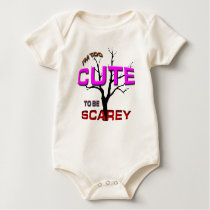 I'm Too Cute Baby Bodysuit