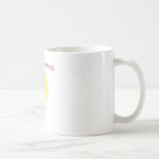 I'm too cute to be 70 coffee mug