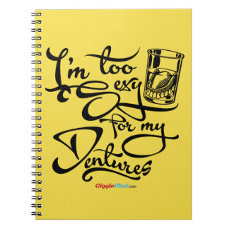 I'm Too Sexy for my Dentures Notebook