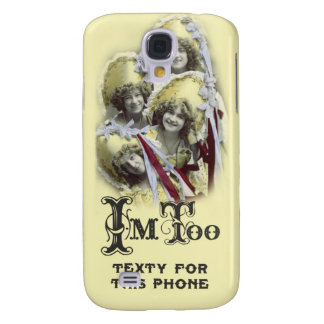 I'm Too Texty for This Phone 3g Iphone Case