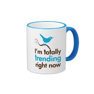 I'm totally trending right now ringer mug