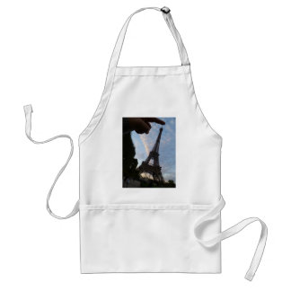 I'm touching the Eiffel Tower Adult Apron