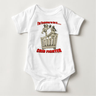 I'm Training to be a Crib Fighter Baby Bodysuit