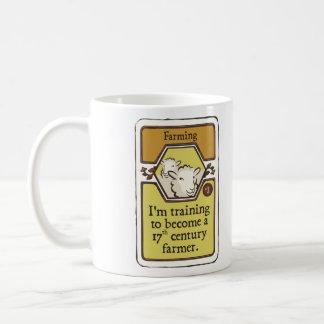 I'm Training to Become a 17th Century Farmer Classic White Coffee Mug