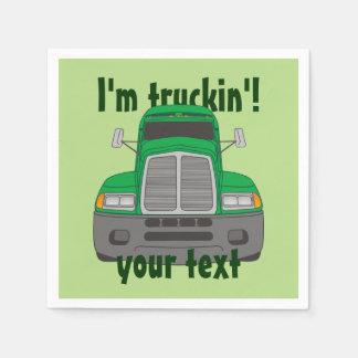 I'm Truckin' Napkin