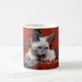 I'm Trying To Blend Kitten Mug
