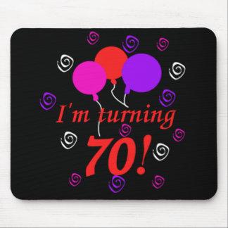 I'm Turning 70 Mouse Pad
