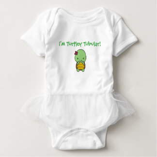 I'm TURTLEY Tubular! Baby Bodysuit