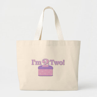I'm Two Years Old Jumbo Tote Bag