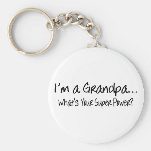 Im un abuelo cuál es su superpoder llavero redondo tipo pin