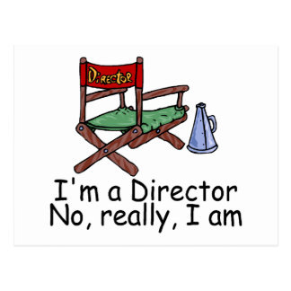 Im un director No Really Im Postal