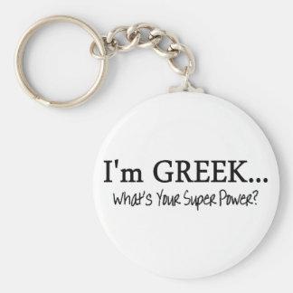 Im un Griego cuál es su superpoder Llavero Redondo Tipo Pin