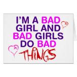 Im un mún chica y los malos chicas hacen las malas felicitacion