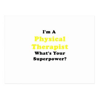 Im un terapeuta físico cuál es su superpotencia tarjetas postales