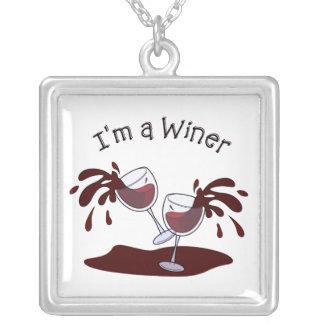 Im un Winer Colgante Cuadrado