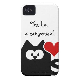 Im una caja intrépida de Blackberry de la persona iPhone 4 Case-Mate Fundas
