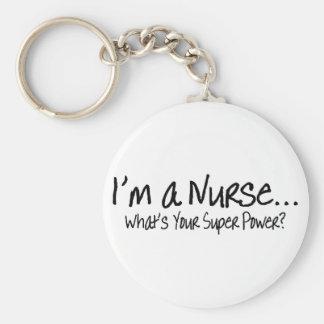 Im una enfermera cuál es su superpoder llavero personalizado