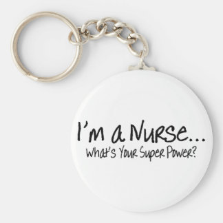 Im una enfermera cuál es su superpoder llavero redondo tipo pin