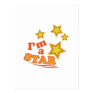 Im una estrella tarjetas postales
