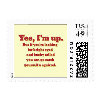 I'm Up, But... Postage
