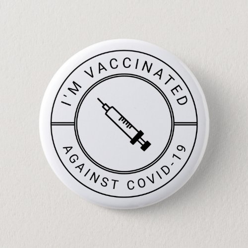 Im Vaccinated Against Covid_19 Professional Button