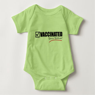 I'm Vaccinated. You're Welcome. Baby Bodysuit