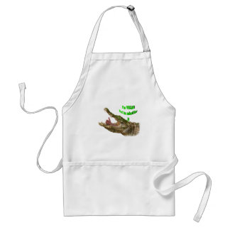 I'm Vegan but he asked for it Standard Apron