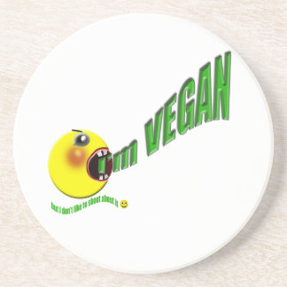 I'm Vegan but I don't like to shout about it Coasters