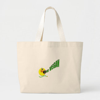 I'm Vegan but I don't like to shout about it Large Tote Bag