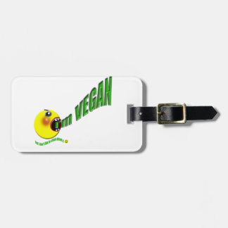 I'm Vegan but I don't like to shout about it Luggage Tag