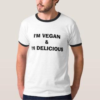 I'M VEGAN & I'M DELICIOUS SHIRT