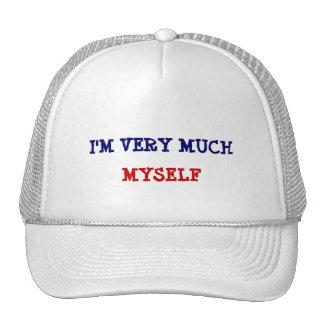 I'm very much myself trucker hat