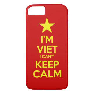 I'm Viet I Can't Keep Calm iPhone 8/7 Case