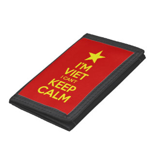 I'm Viet I Can't Keep Calm Trifold Wallet