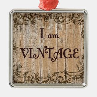 I'm Vintage Metal Ornament