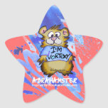 I'm Vortexy Abrahamster Star Star Stickers