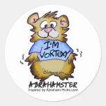 I'm Vortexy Round Stickers