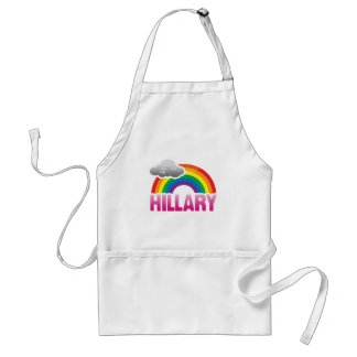 I'M VOTING FOR HILLARY WITH PRIDE -.png Apron