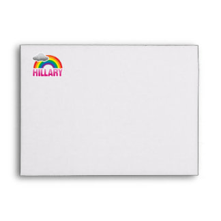 I'M VOTING FOR HILLARY WITH PRIDE -.png Envelope
