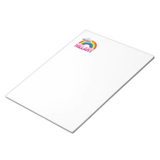 I'M VOTING FOR HILLARY WITH PRIDE -.png Memo Notepad
