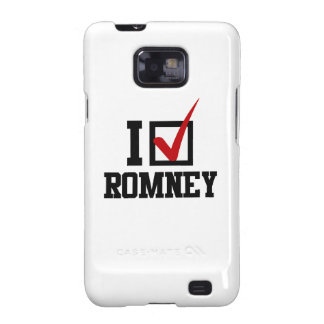 I'M VOTING FOR MITT ROMNEY.png Galaxy SII Case