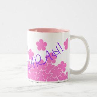 I'm Voting For Sarah! Flower Mug