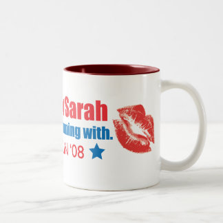 I'm Voting for Sarah Mug