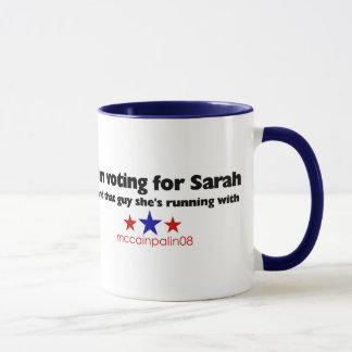 I'm Voting For Sarah Mug